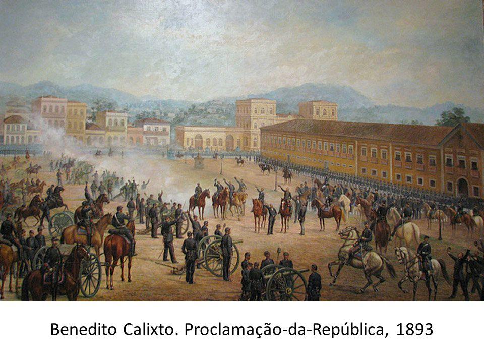 Benedito Calixto. Proclamação-da-República, 1893