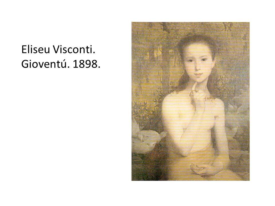 Eliseu Visconti. Gioventú. 1898.