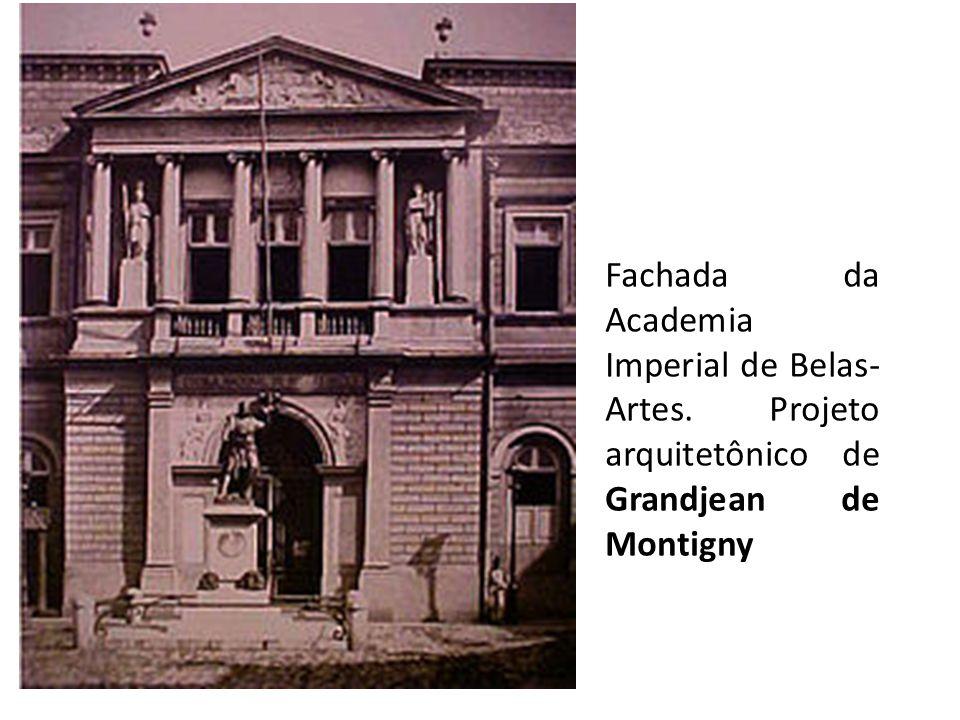 Fachada da Academia Imperial de Belas-Artes