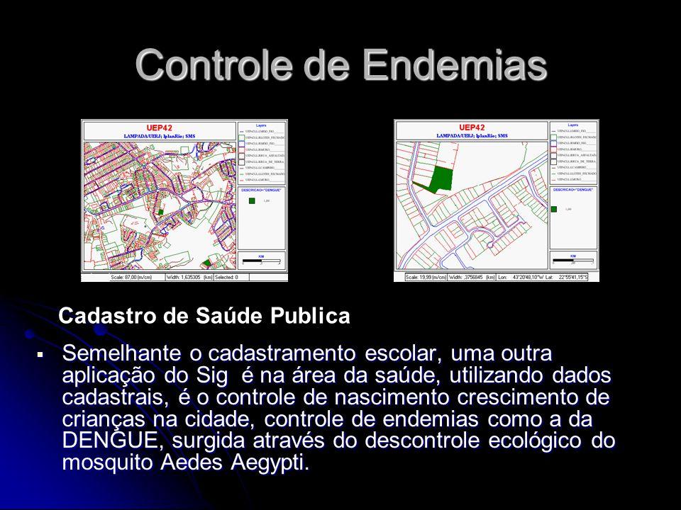 Controle de Endemias Cadastro de Saúde Publica