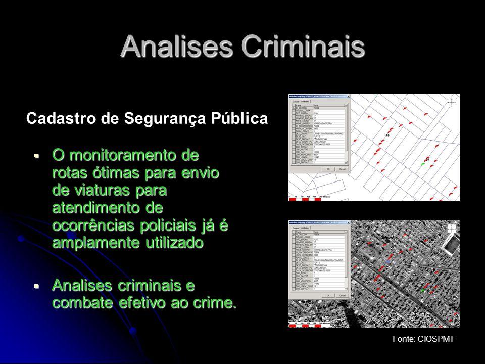 Analises Criminais Cadastro de Segurança Pública