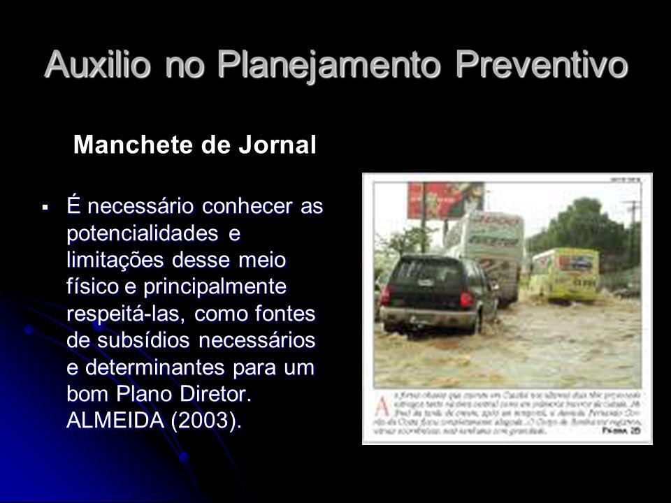 Auxilio no Planejamento Preventivo
