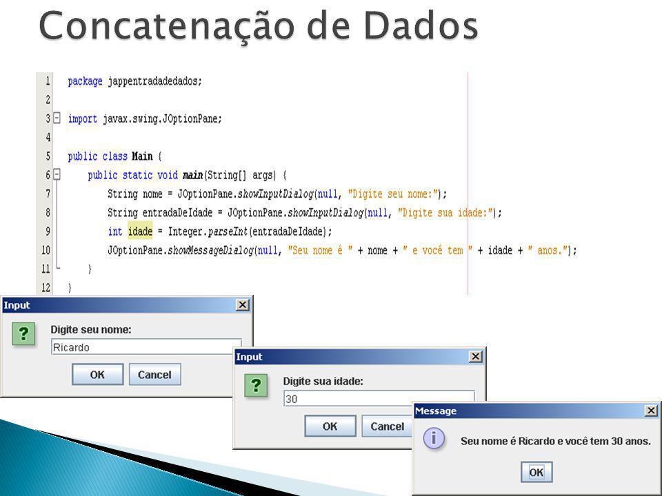 Concatenação de Dados