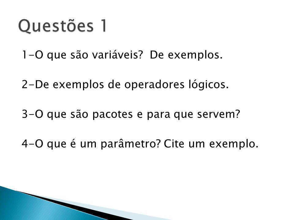 Questões 1