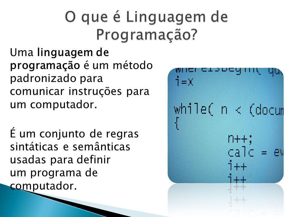 O que é Linguagem de Programação