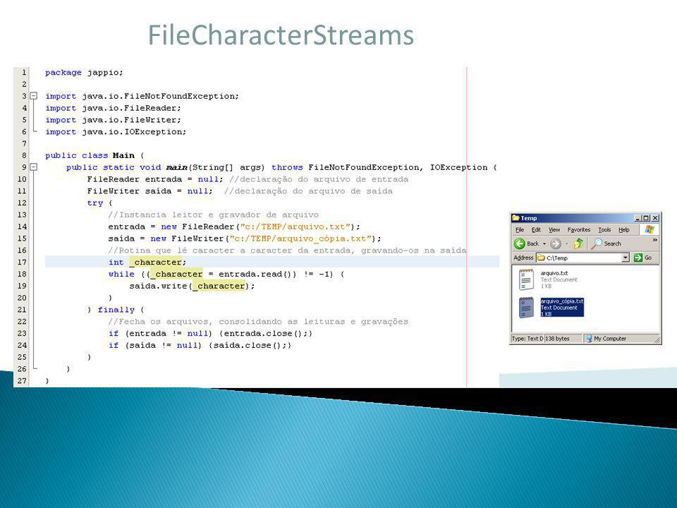 FileCharacterStreams