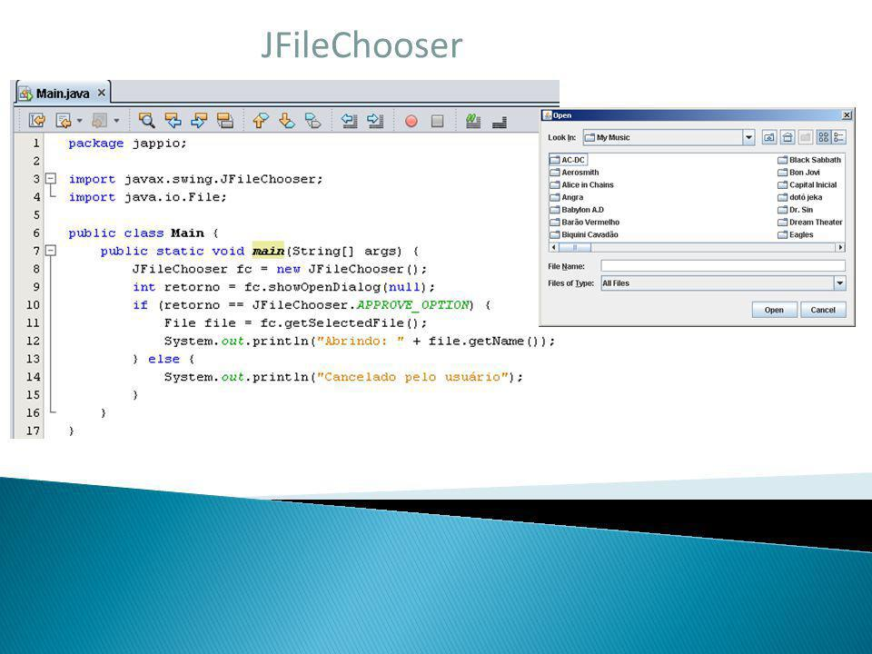 JFileChooser