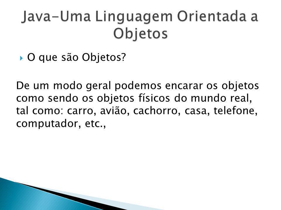 Java-Uma Linguagem Orientada a Objetos