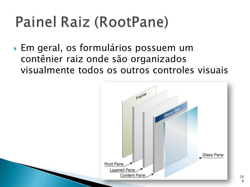 Painel Raiz (RootPane)