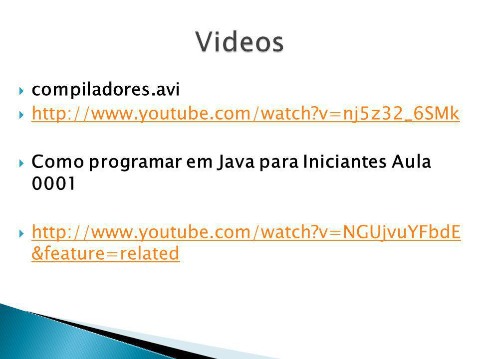 Videos compiladores.avi http://www.youtube.com/watch v=nj5z32_6SMk