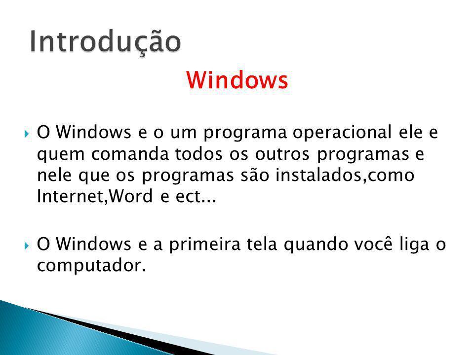 Introdução Windows.