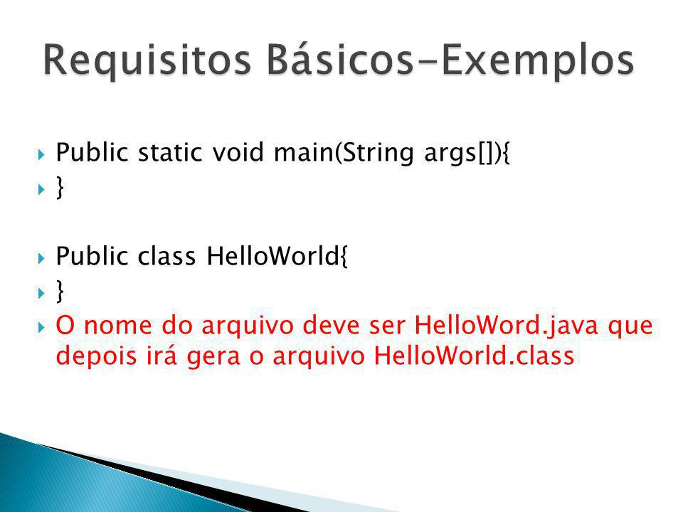 Requisitos Básicos-Exemplos