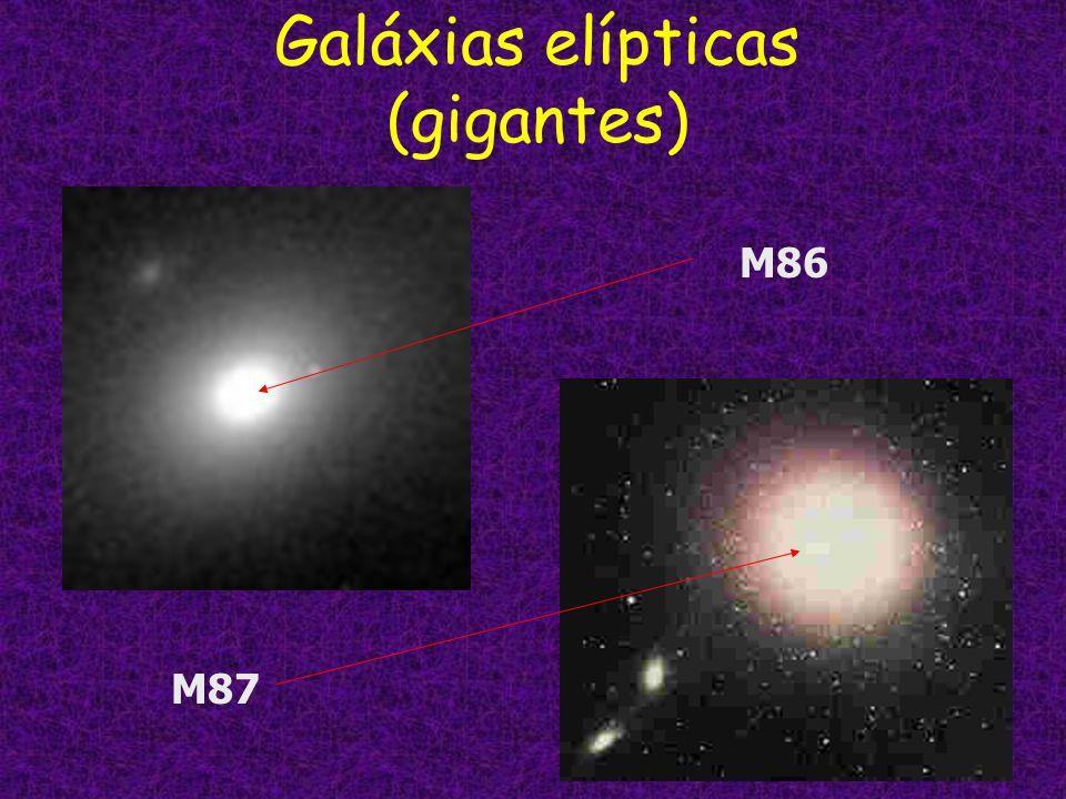 Galáxias elípticas (gigantes)