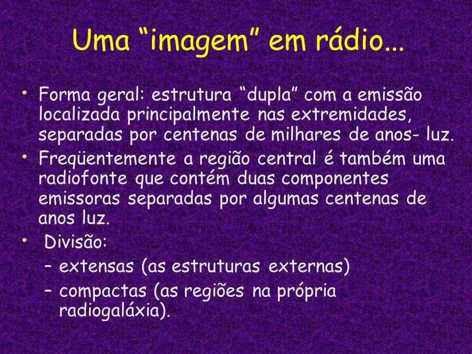 Uma imagem em rádio...