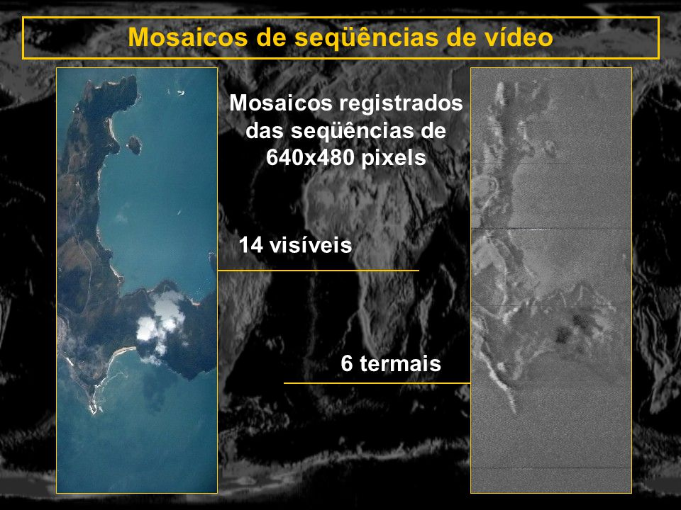 Mosaicos de seqüências de vídeo