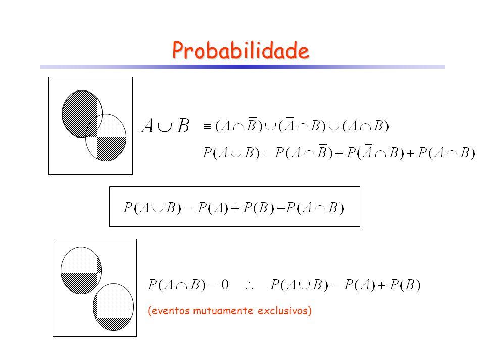 Probabilidade (eventos mutuamente exclusivos)