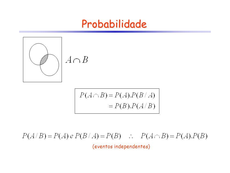 Probabilidade (eventos independentes)