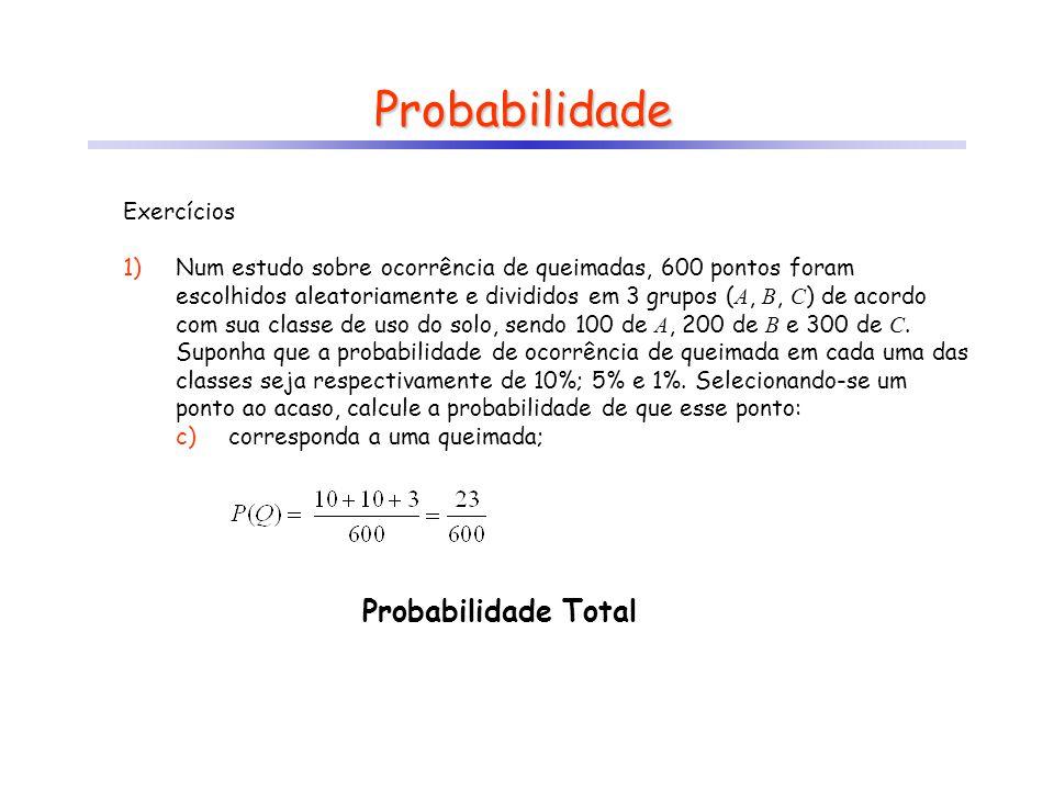 Probabilidade Probabilidade Total Exercícios