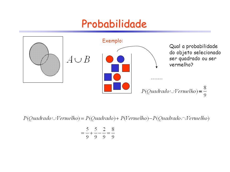 Probabilidade Exemplo: