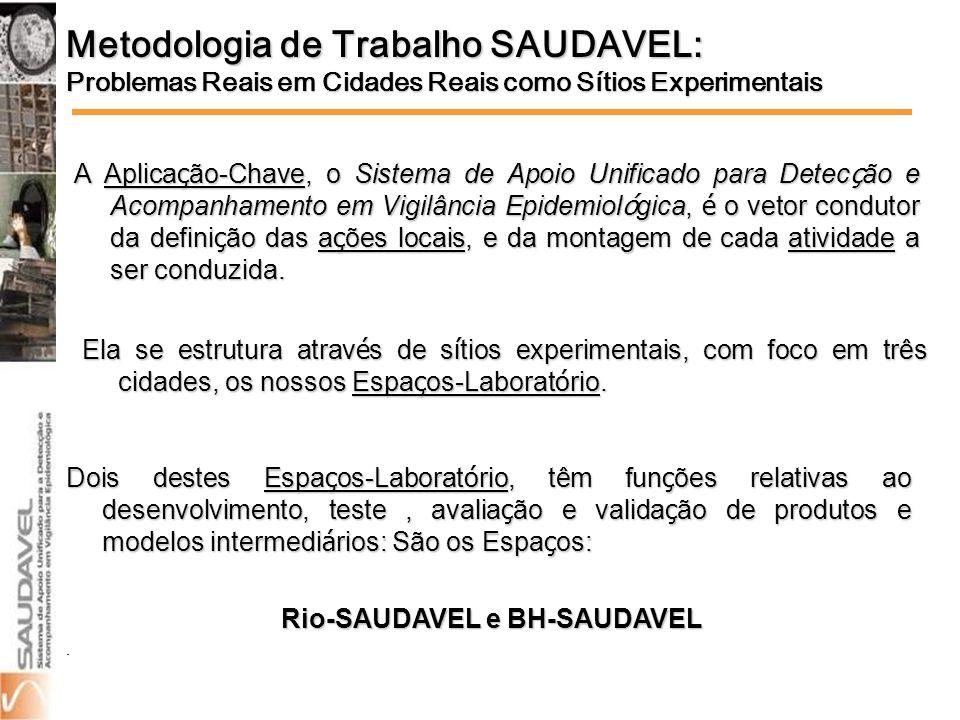 Rio-SAUDAVEL e BH-SAUDAVEL