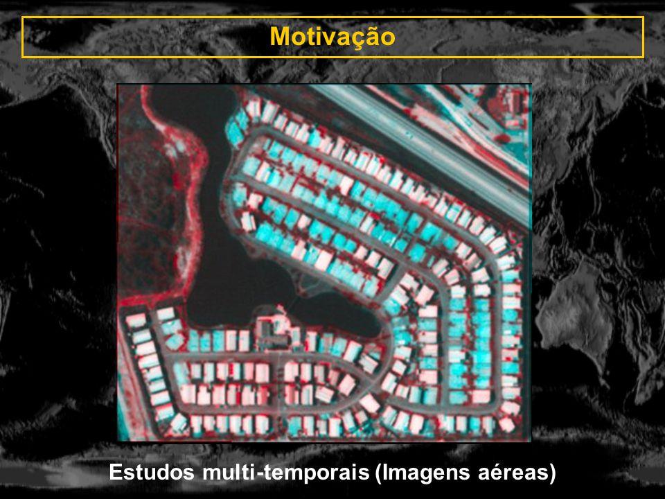 Estudos multi-temporais (Imagens aéreas)