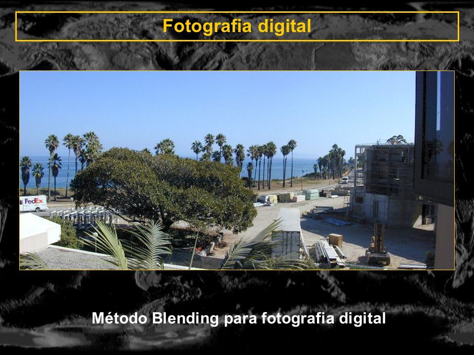 Método Blending para fotografia digital