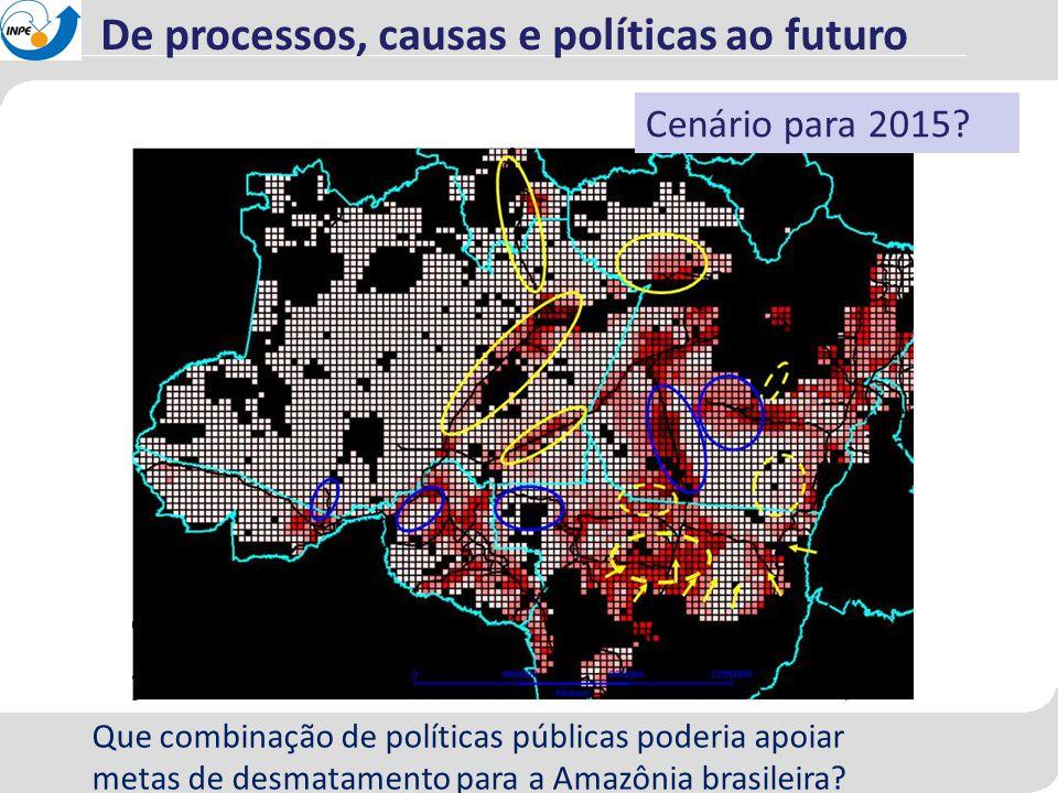 De processos, causas e políticas ao futuro