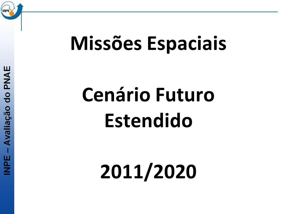 Missões Espaciais Cenário Futuro Estendido 2011/2020