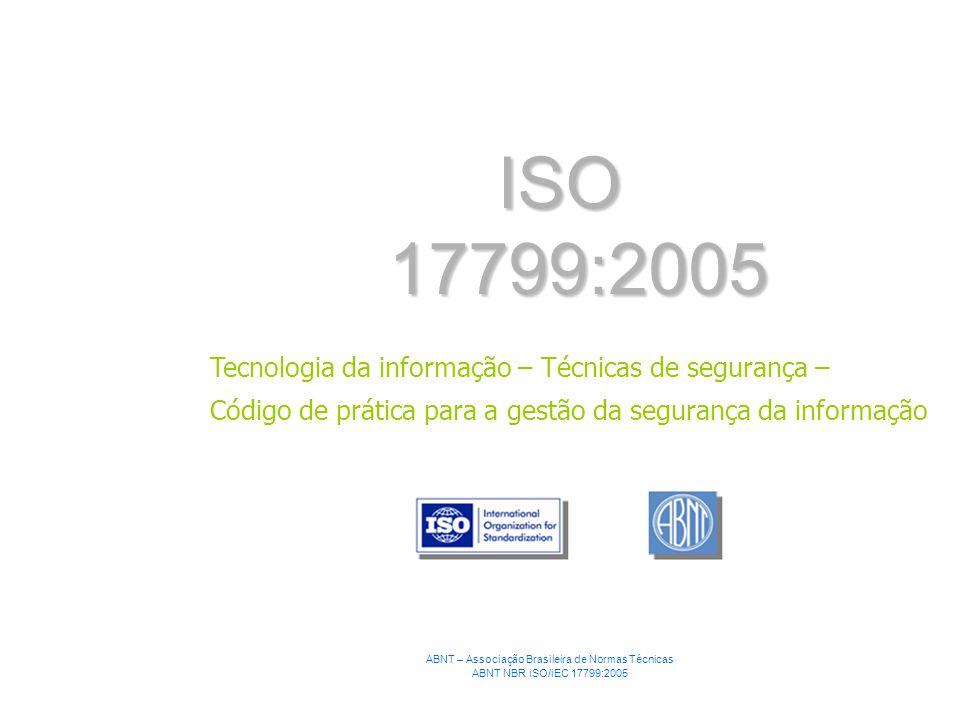 ABNT – Associação Brasileira de Normas Técnicas
