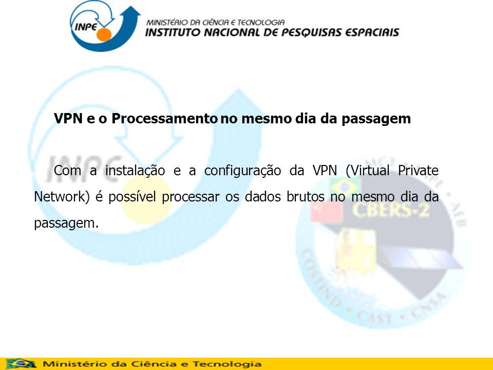 VPN e o Processamento no mesmo dia da passagem