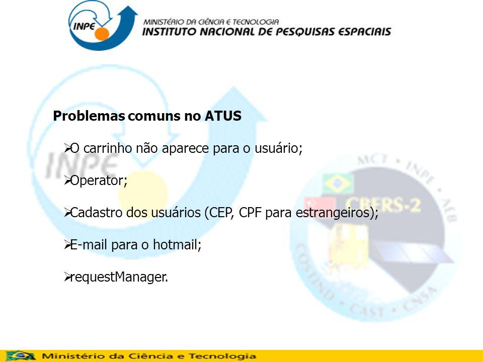 Problemas comuns no ATUS