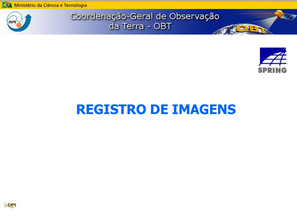 REGISTRO DE IMAGENS