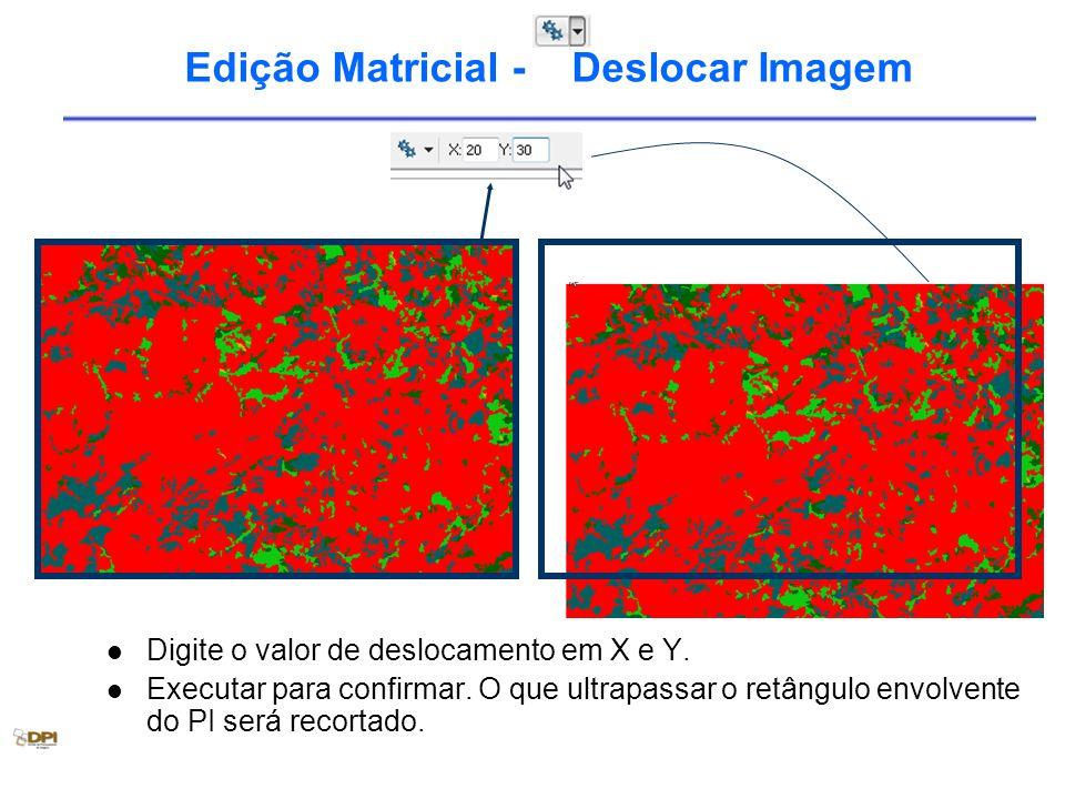 Edição Matricial - Deslocar Imagem