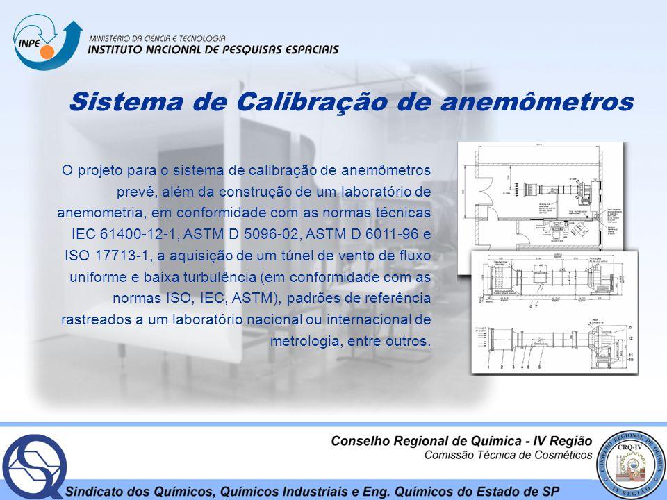 Sistema de Calibração de anemômetros