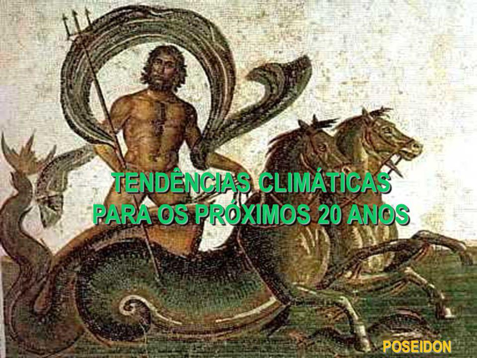 TENDÊNCIAS CLIMÁTICAS PARA OS PRÓXIMOS 20 ANOS