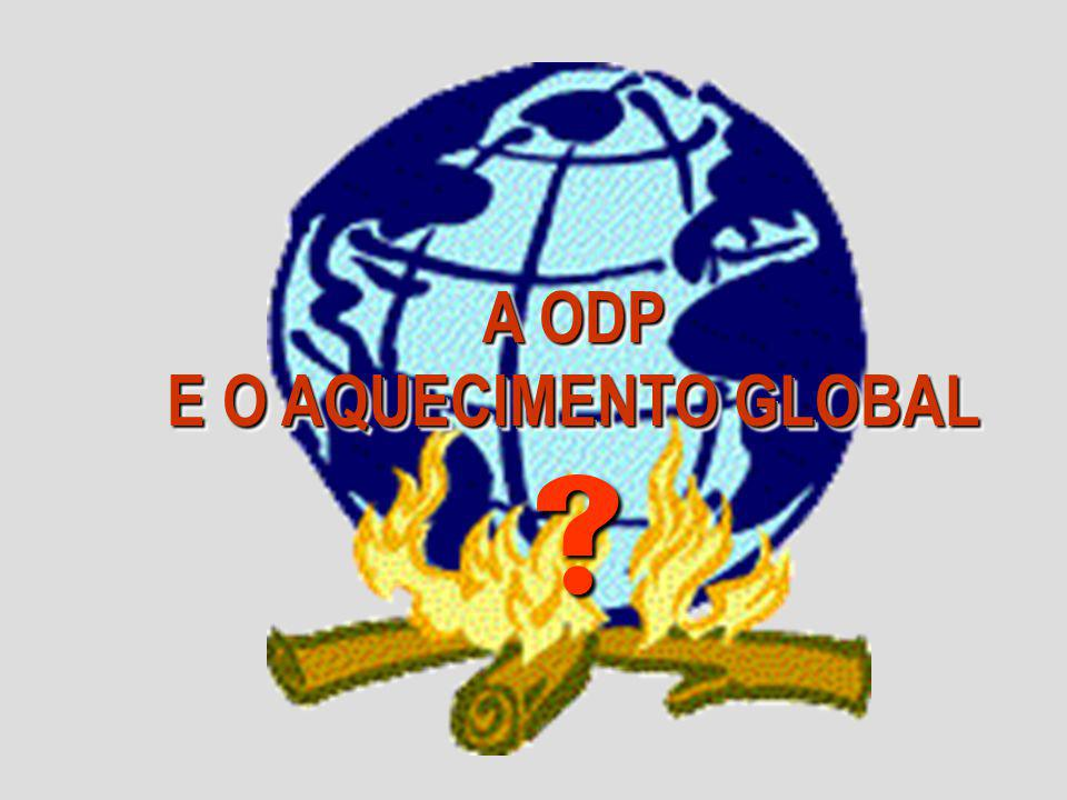 A ODP E O AQUECIMENTO GLOBAL 