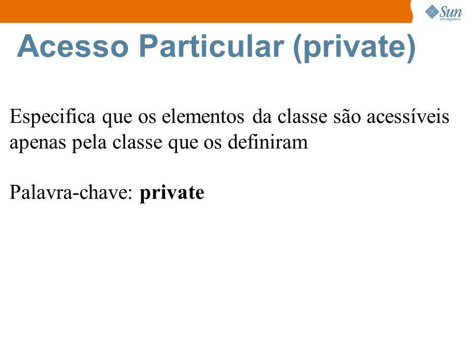 Acesso Particular (private)