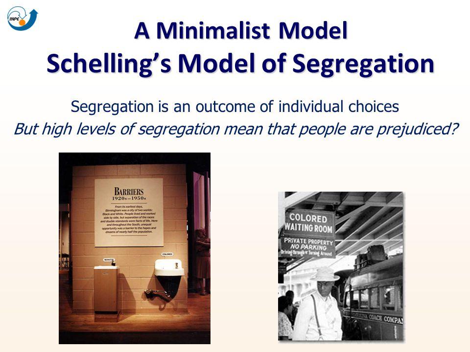 A Minimalist Model Schelling's Model of Segregation
