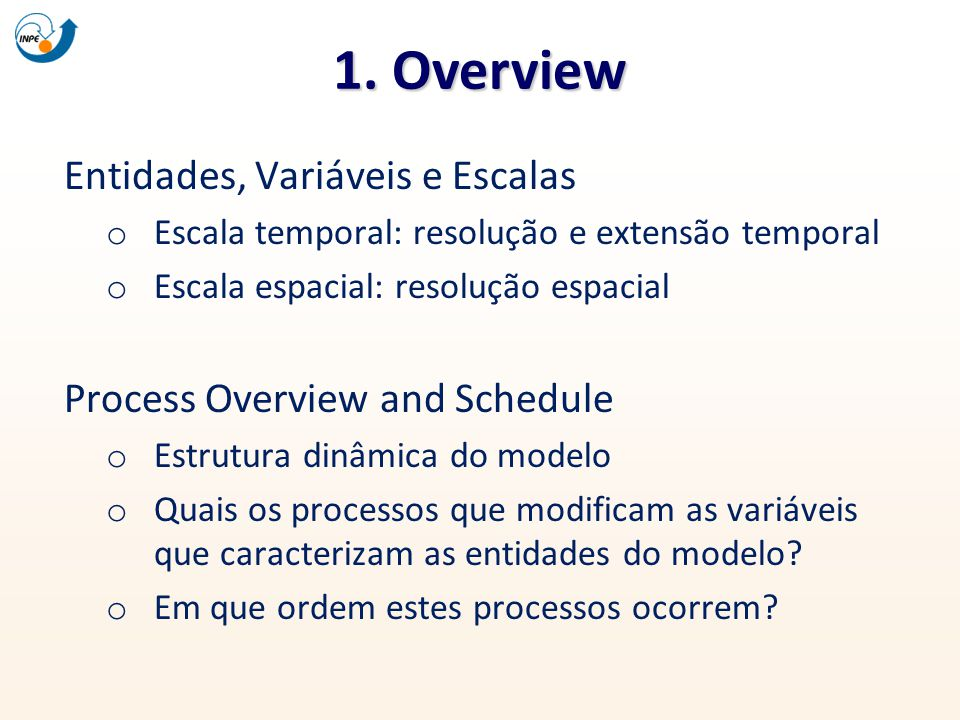 1. Overview Entidades, Variáveis e Escalas