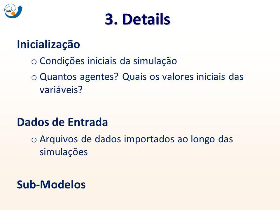 3. Details Inicialização Dados de Entrada Sub-Modelos