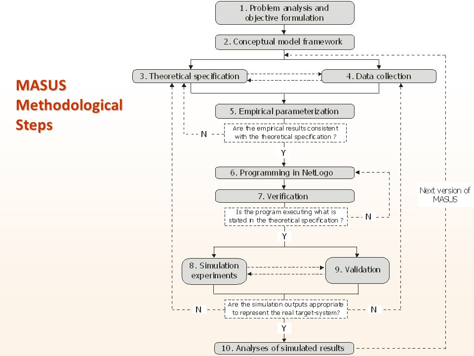 MASUS Methodological Steps