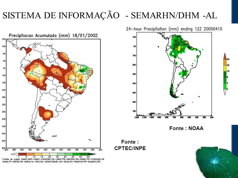 SISTEMA DE INFORMAÇÃO - SEMARHN/DHM -AL