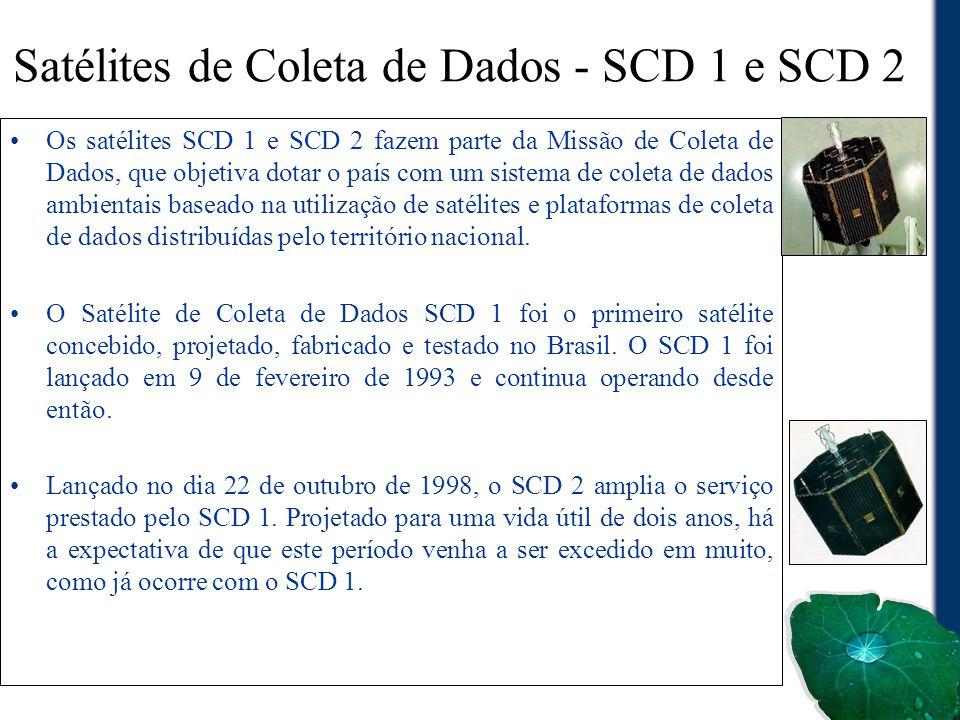 Satélites de Coleta de Dados - SCD 1 e SCD 2
