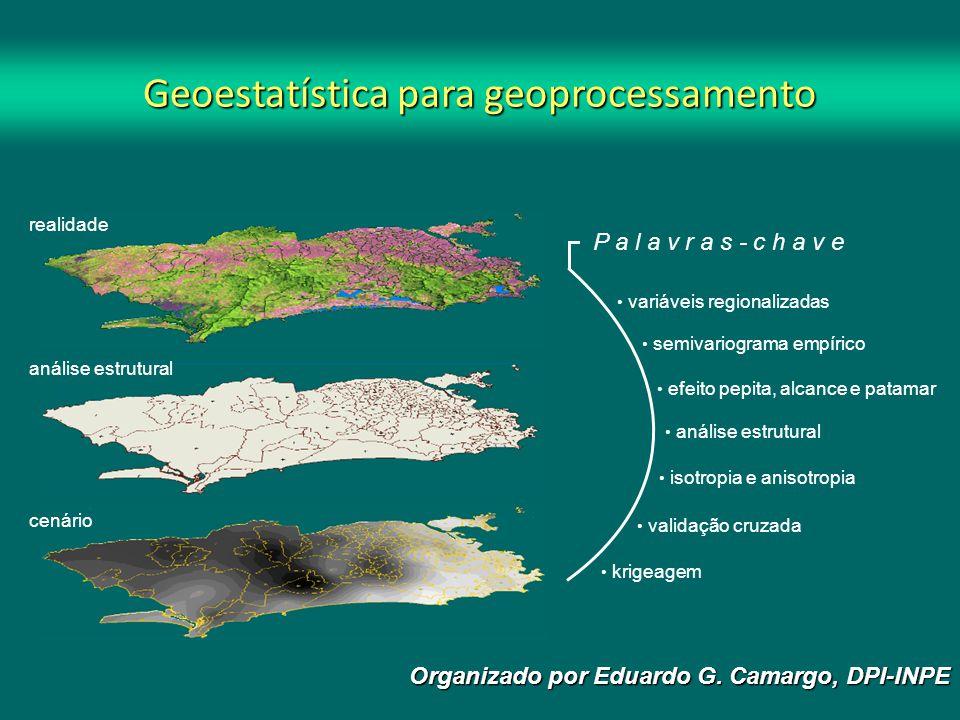 Geoestatística para geoprocessamento