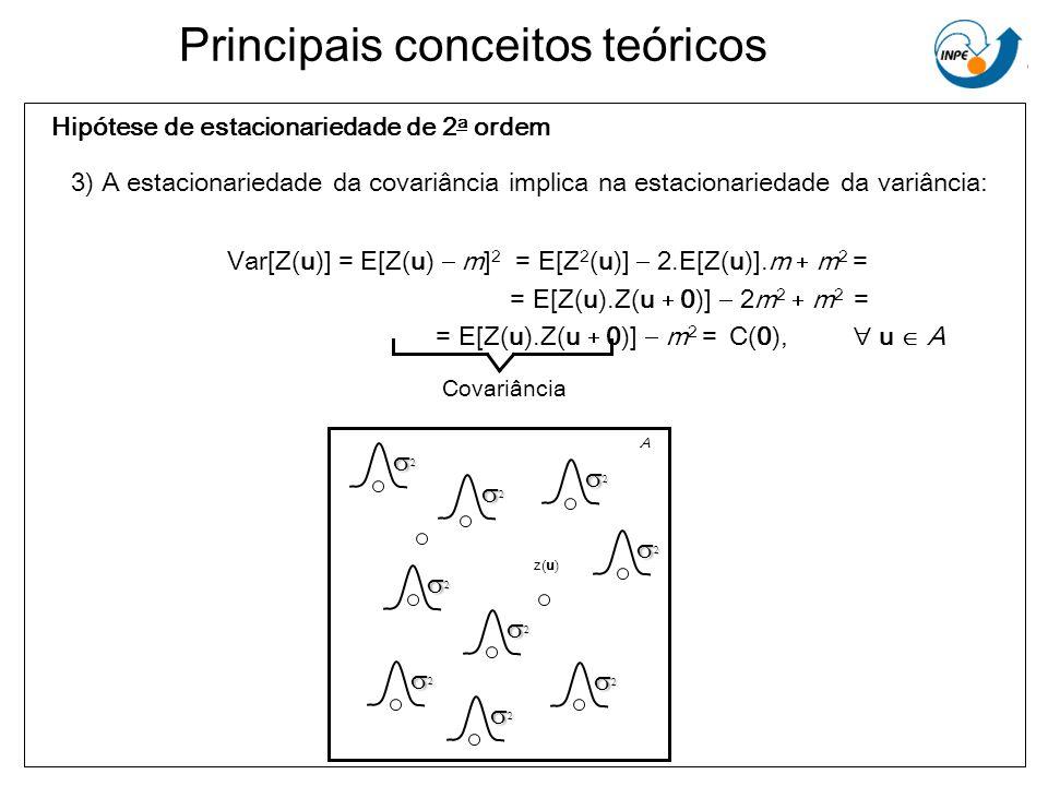 Hipótese de estacionariedade de 2a ordem