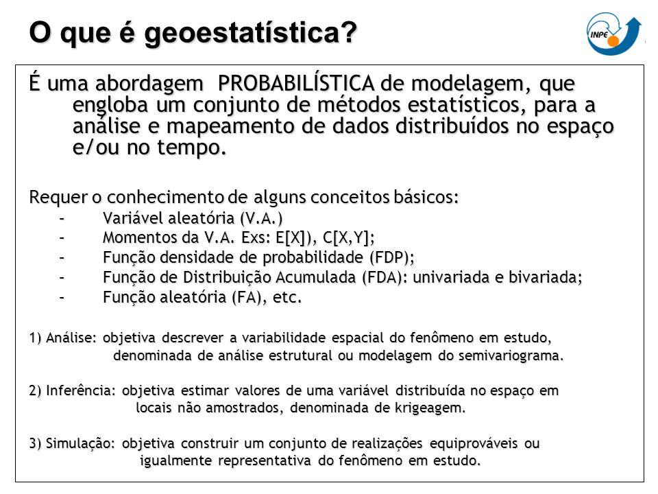 O que é geoestatística