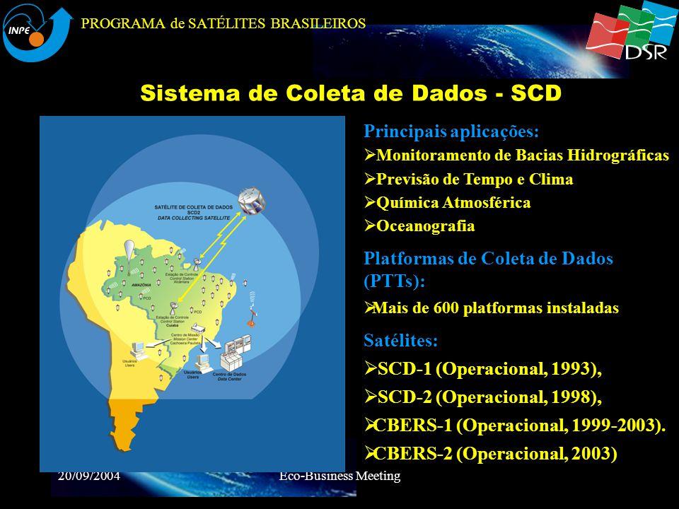 PROGRAMA de SATÉLITES BRASILEIROS