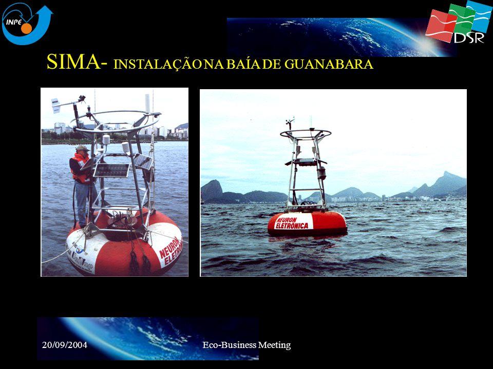 SIMA- INSTALAÇÃO NA BAÍA DE GUANABARA