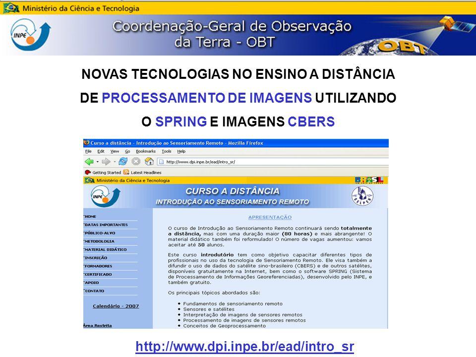 NOVAS TECNOLOGIAS NO ENSINO A DISTÂNCIA