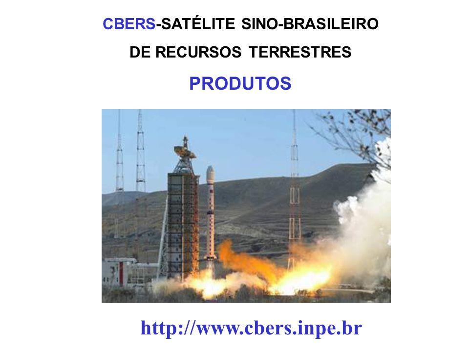 CBERS-SATÉLITE SINO-BRASILEIRO DE RECURSOS TERRESTRES